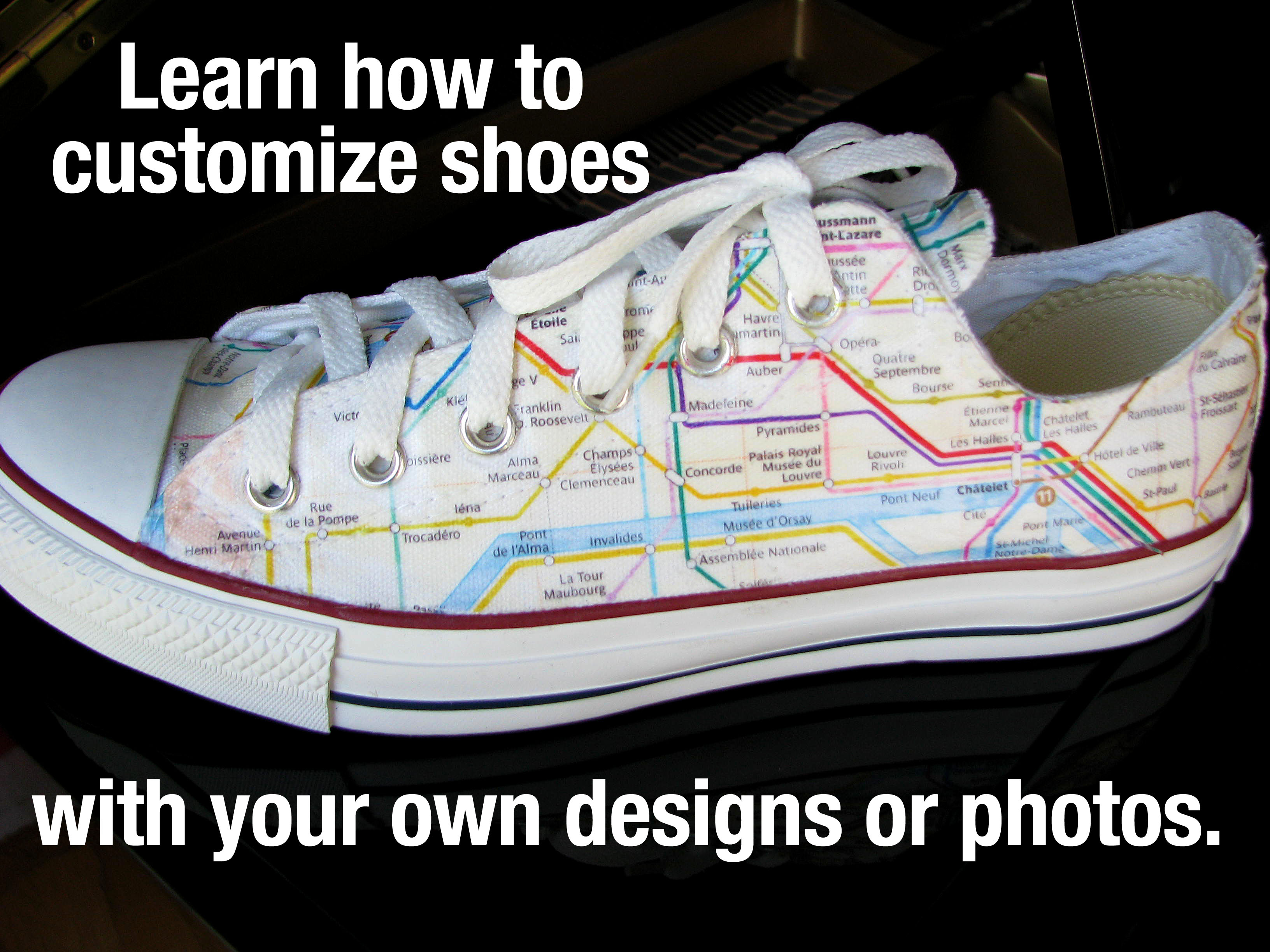 Customize Your Own Converse Shoes